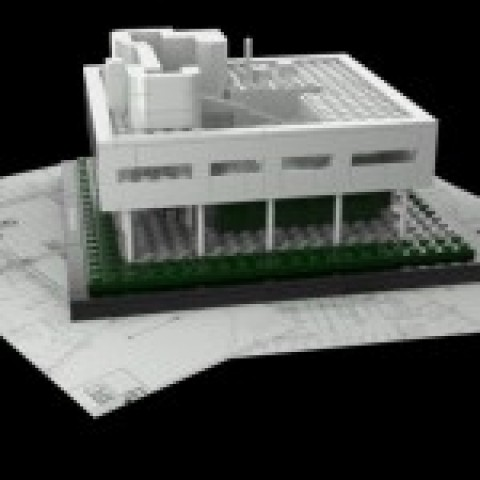 Architects' challenge: Building ideas with LEGO bricks!