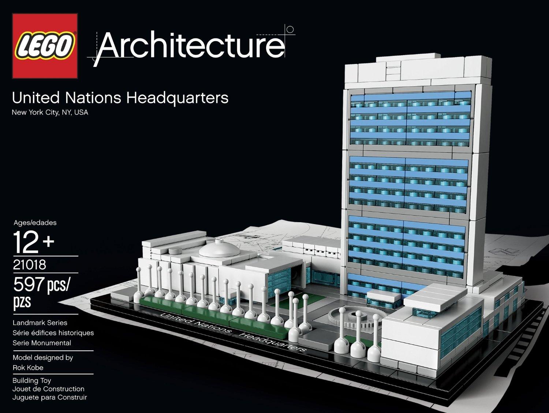 Lego Architecture UN Headquarters