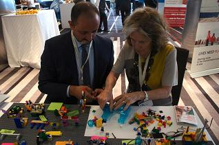 Global Leaders Playing with Lego Serious Play