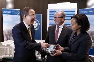 Ban Ki-moon, Kjeld Kirk Kristiansen, Randa Grob-Zakhary