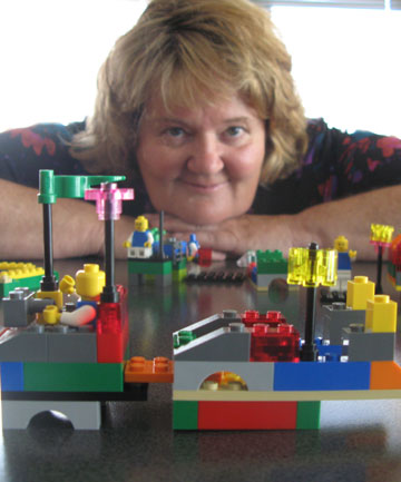 Councillors get serious about building blocks, All you need is Lego - by Jo McKenzie-McLean