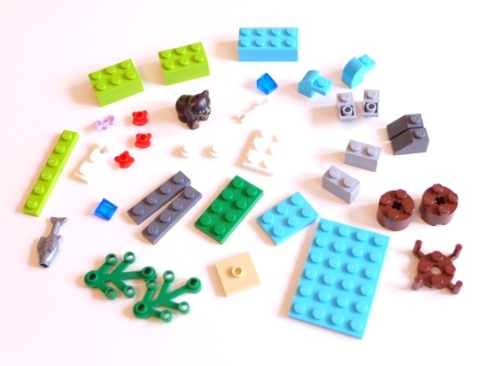 LEGO Friends 41046: Brown Bear's River
