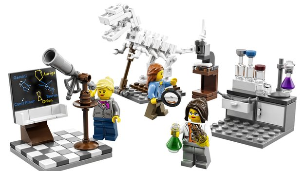 Lego Research Lab Set 21110