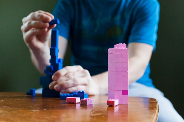 Lego Bricks Tower - Photo by Laura Beth Drilling Demand Media
