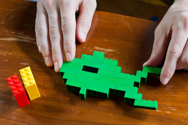 Lego Fish - Photo by Laura Beth Drilling Demand Media
