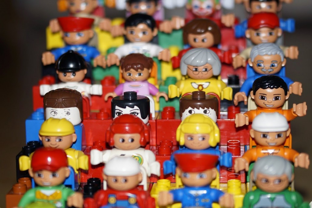 Lego Minifigures - All Together