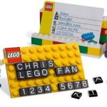 Lego Business Card Holder
