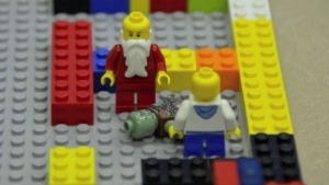 Lego bricks were brought to planning sessions for a new integrated health facility in Leader, Sask. (Submitted to CBC)
