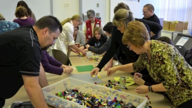 Hospital planning is child's play with Lego