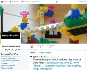 Lego Serious Play Pro on Twitter
