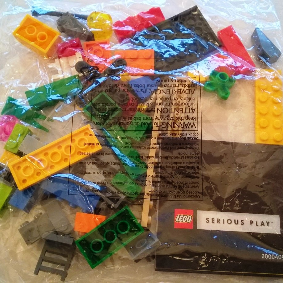 Lego Serious Play Window Exploration Bag