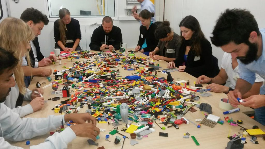 CERN Challenge Based Innovation Lego Serious Play Exercise with Massimo Mercuri