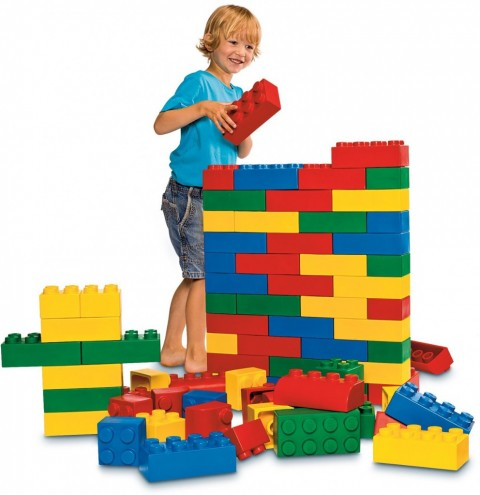 Huge Lego Bricks for Friday Fun