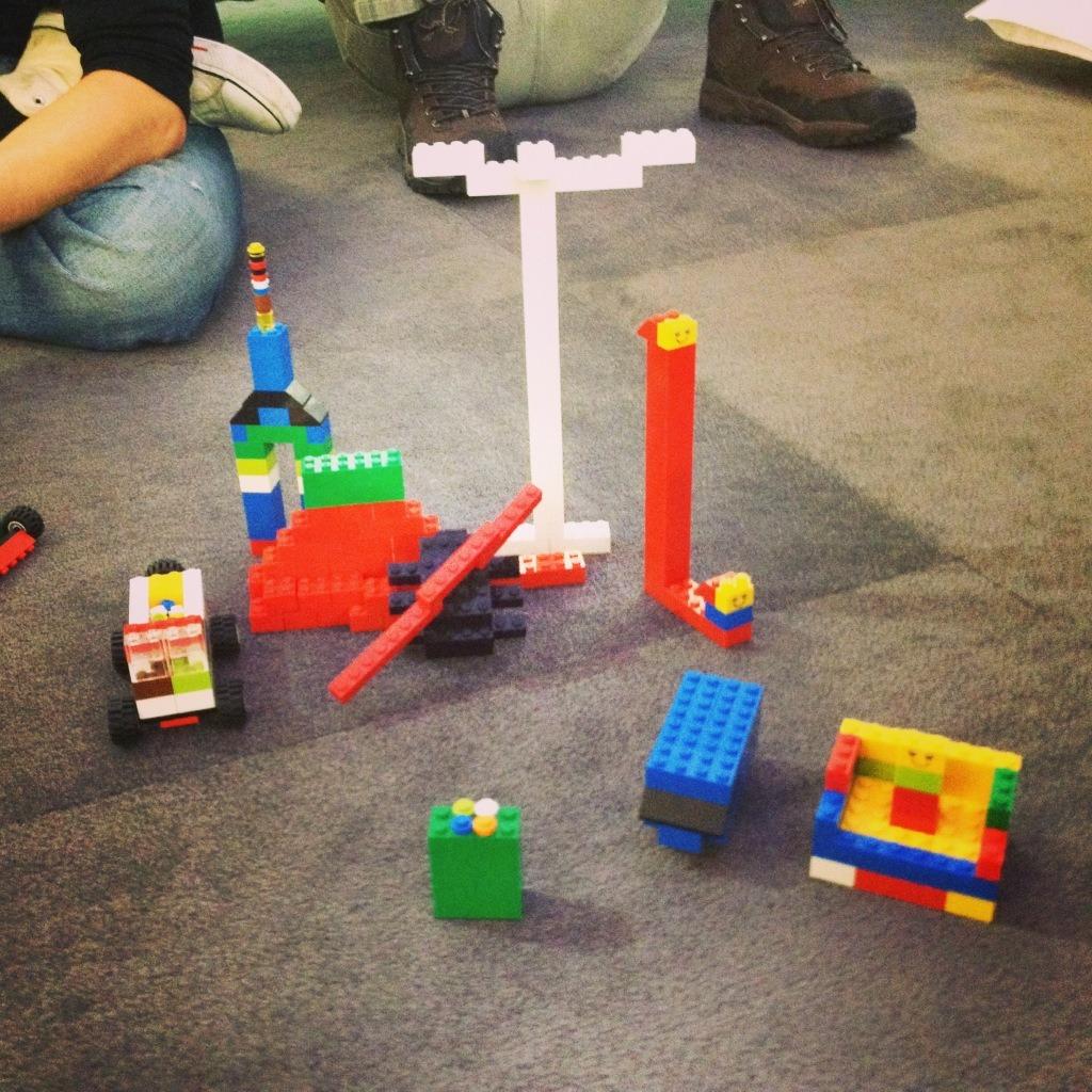 LEGO Retrospective Scrum Team Result Round 1 by Dominic Krimmer