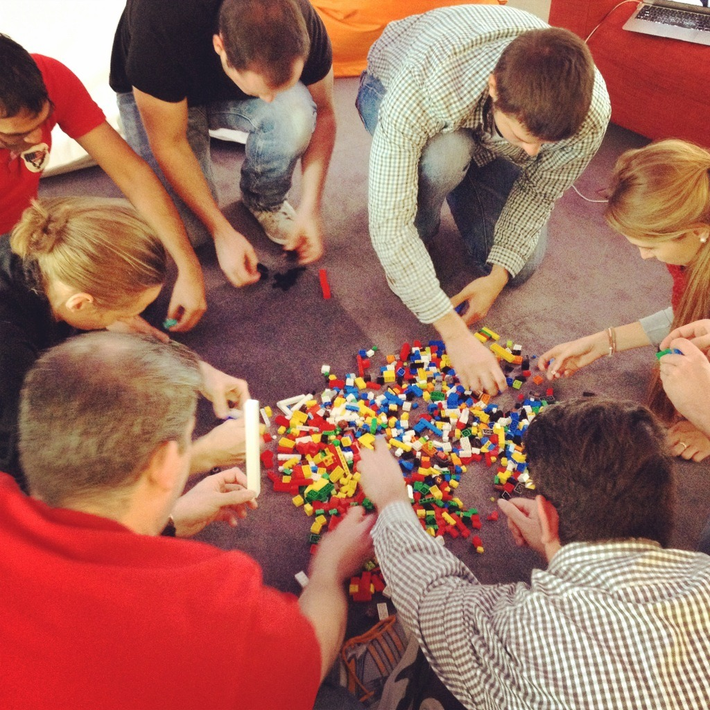 LEGO Retrospective Scrum Team by Dominic Krimmer