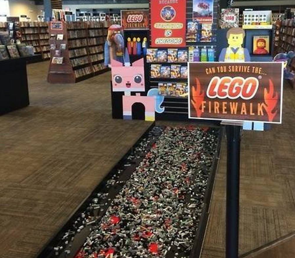 Lego Fire Walk from Bull Moose DVD Shop