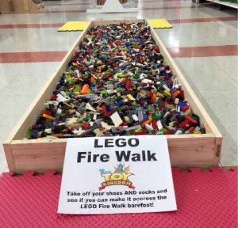 LEGO Fire Walk