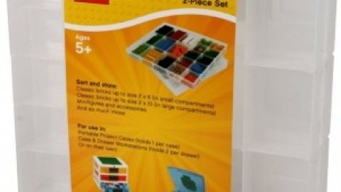 Lego Brick Sorting and Storage with IRIS Trays