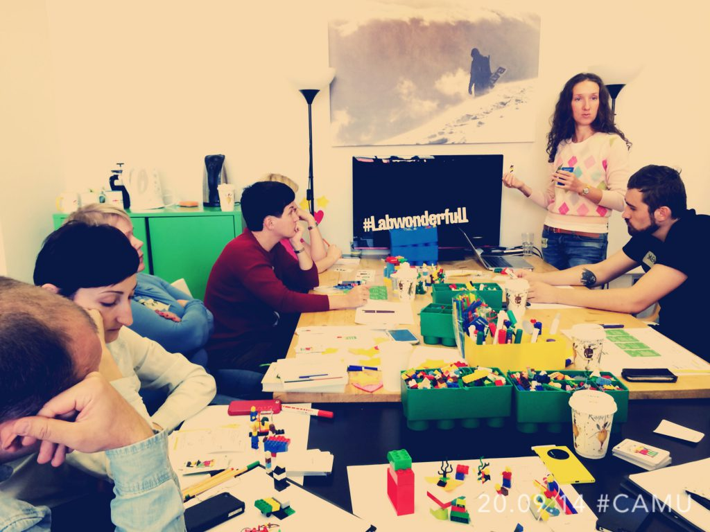 Lego Serious Play Facilitator Training Event in Moscow