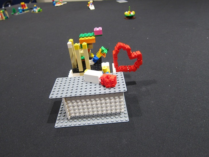 LEGO SERIOUS PLAY heart