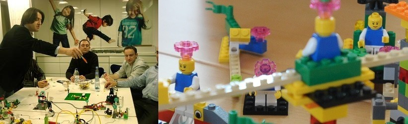 Lego Serious Play - Storymaking not Storytelling