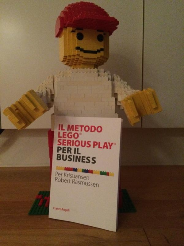 Building a Better Business with Lego Serious Play Book in Italian