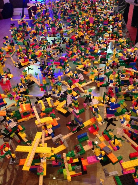 LEGO® Serious Play® – a Magical Approach to Large Group