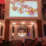 Video Link between Conference Rooms