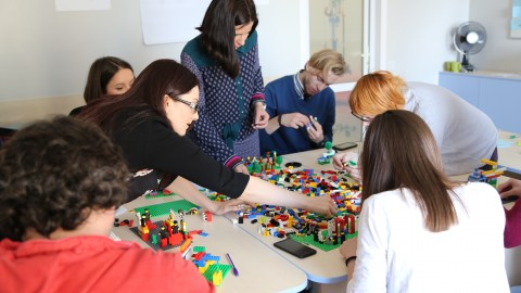 Lego Serious Play Facilitator Training in Ukraine