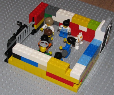 Case Study of Using LEGO SERIOUS PLAY at Bible Study Groups