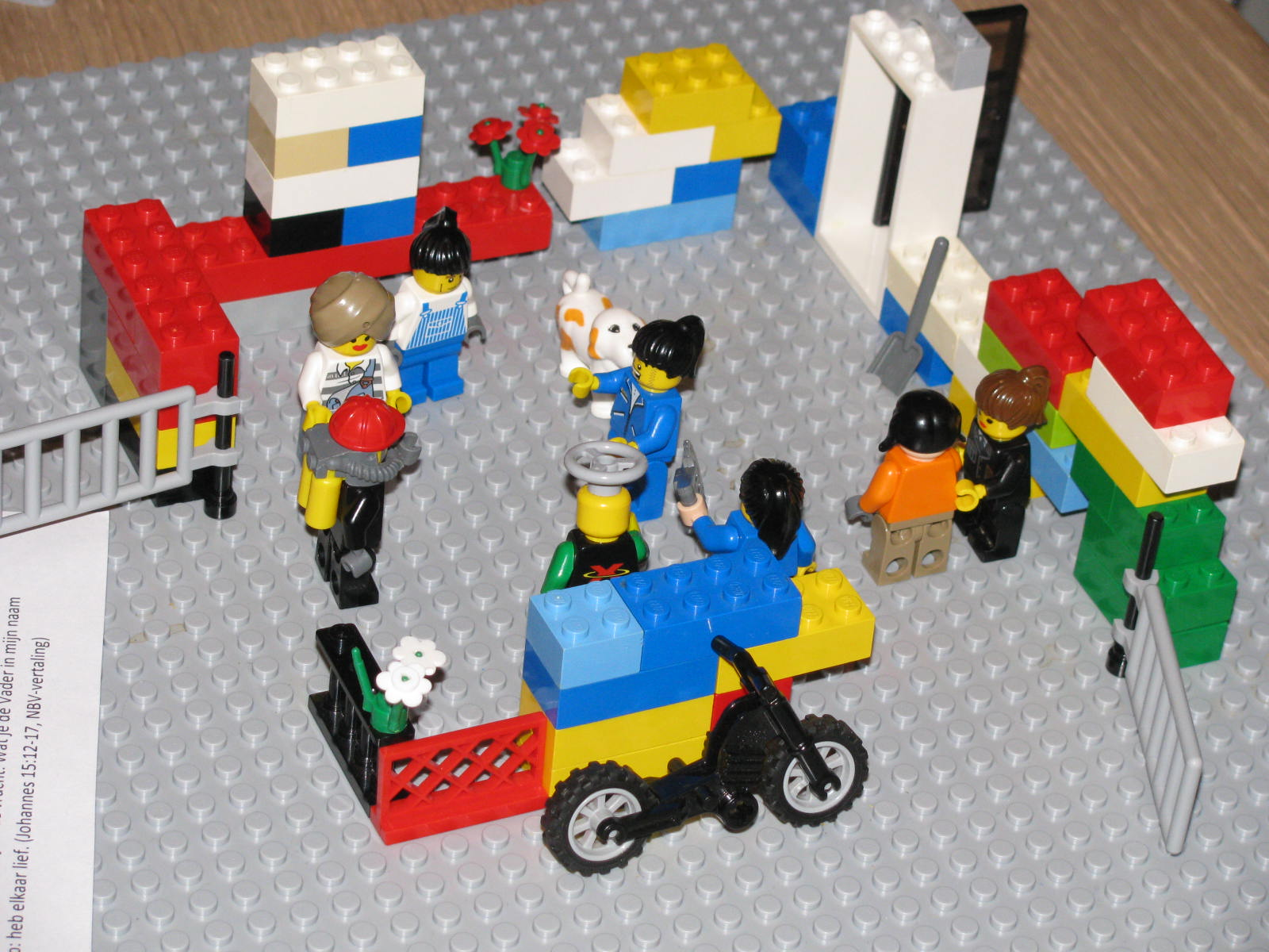 LEGO SERIOUS PLAY at Bible Study Groups. 2nd Revised Model - What is Friendship to You?