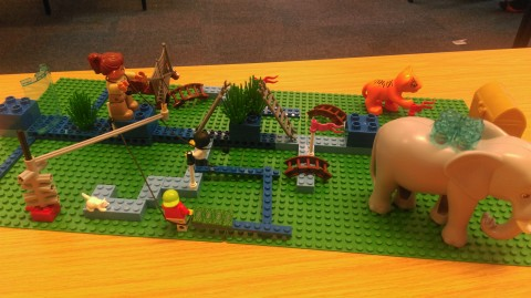 Using Lego Serious Play to explore my PhD research journey