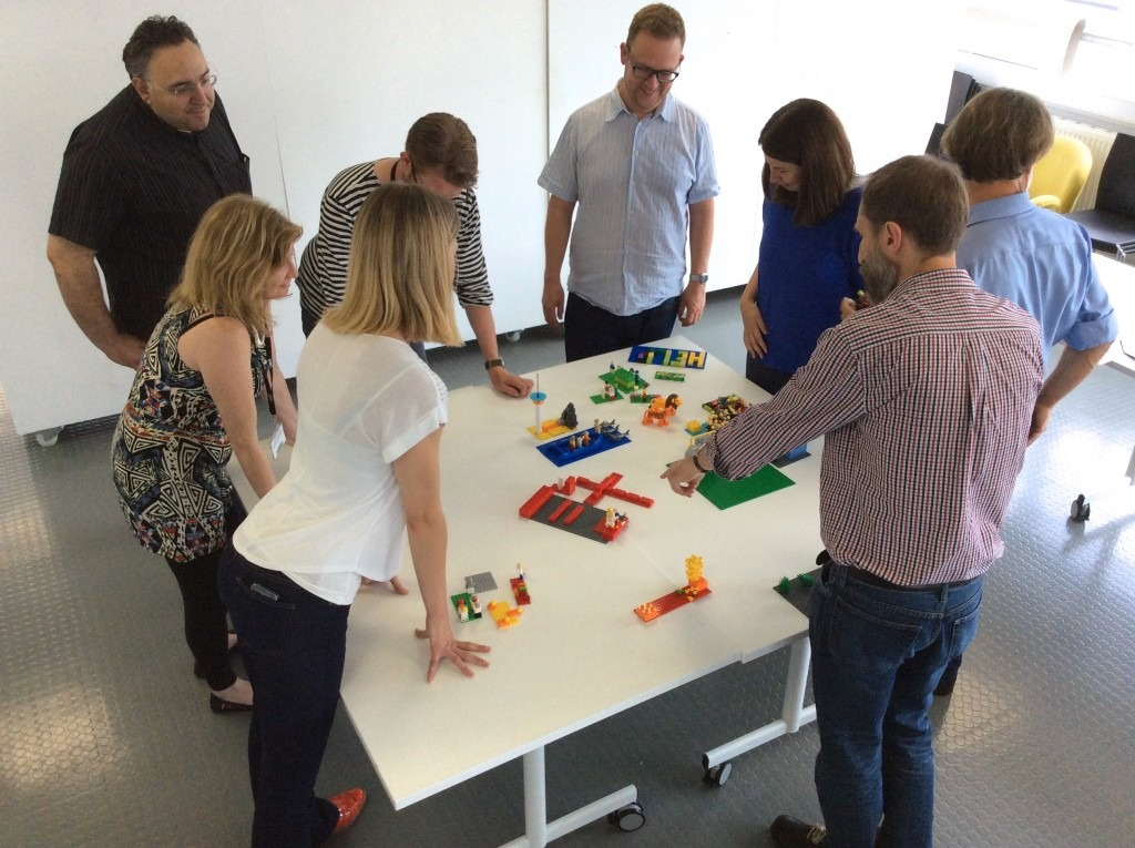 Image: Timetabling in Lego