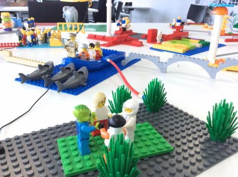 Using Lego Serious Play to explore timetabling