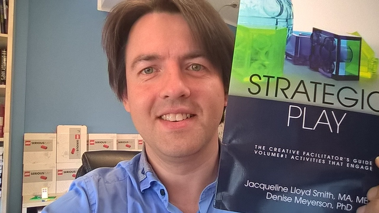Marko Rillo with Strategic Play book