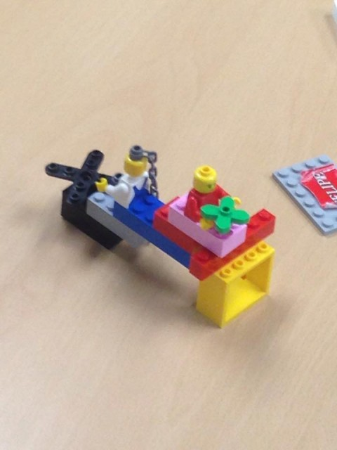 What is NOT Lego Serious Play