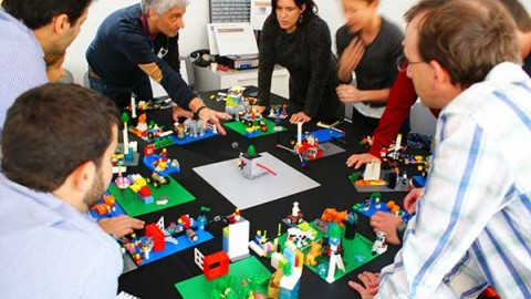 Using Lego Serious Play as a Design Thinking Tool
