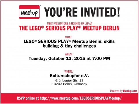 LEGO® SERIOUS PLAY® Meetup Berlin