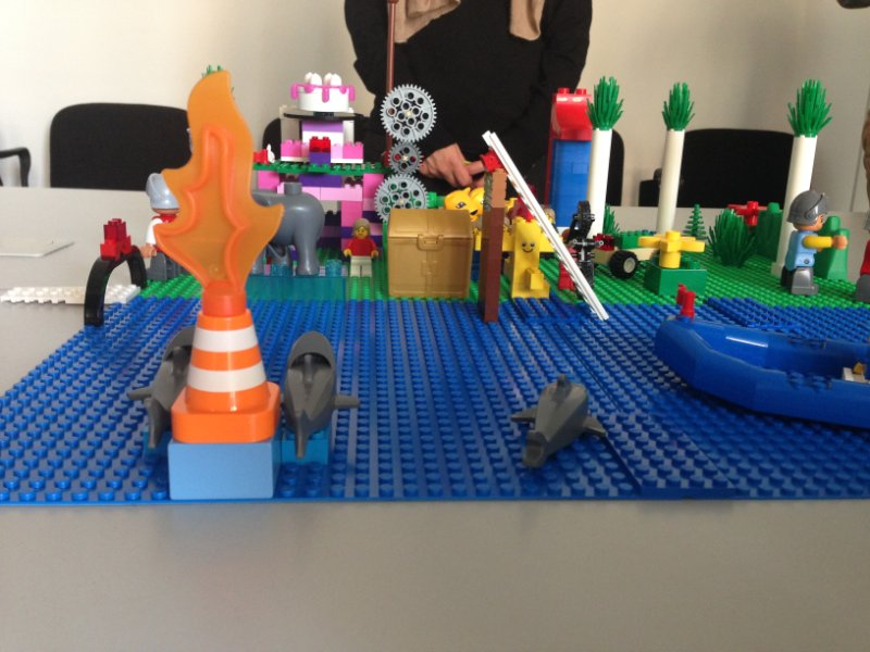 Photo from LEGO SERIOUS PLAY exercise 2