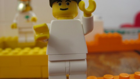 Training administrative inspectors with Lego Serious Play
