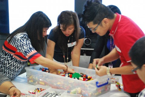Using Lego Serious Play for Change Management