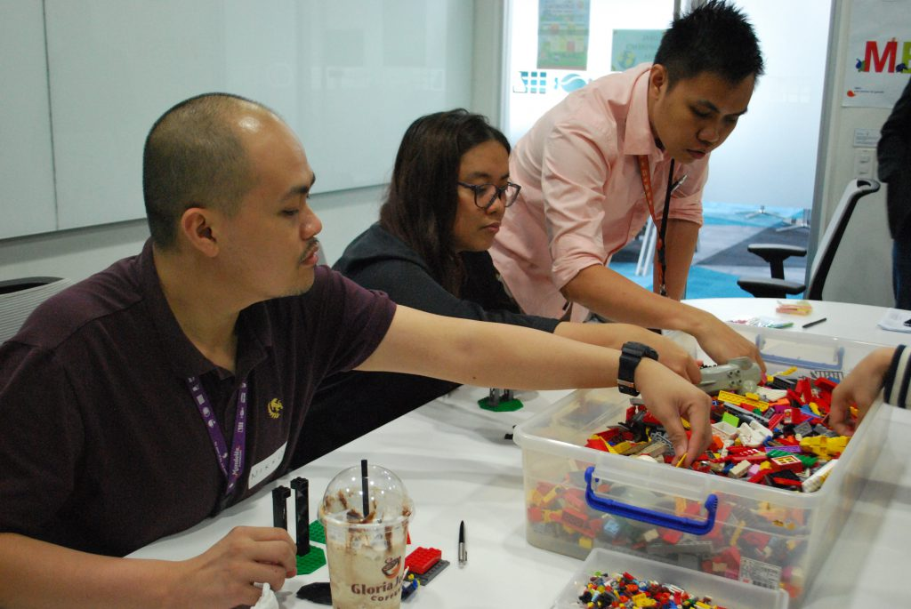 LEGO SERIOUS PLAY case study by Jeff Tagle
