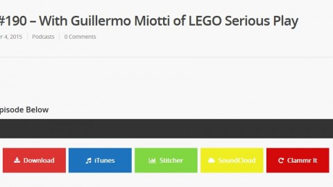 Podcast Episode with Guillermo Miotti on LEGO Serious Play