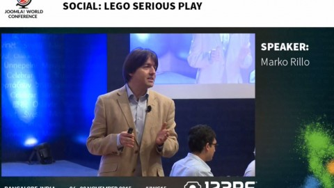 Lego Serious Play Video at Joomla Annual Conference