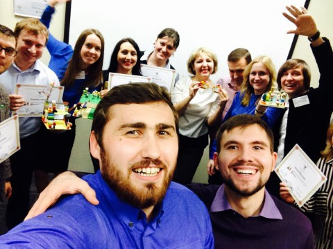 Lego Serious Play for Sberbank in Russia