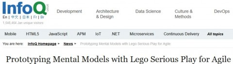 Prototyping Mental Models with Lego Serious Play for Agile