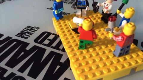 Lego Serious Play meeting for North American Facilitators