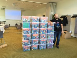 This is what $25K of Lego looks like!
