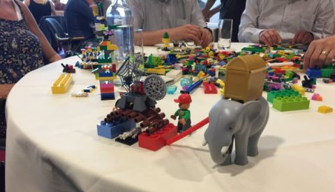 How to commit teams on organization's 2020 vision with Lego© Serious Play© ?