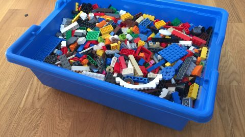 Traveling with LEGO SERIOUS PLAY Bricks